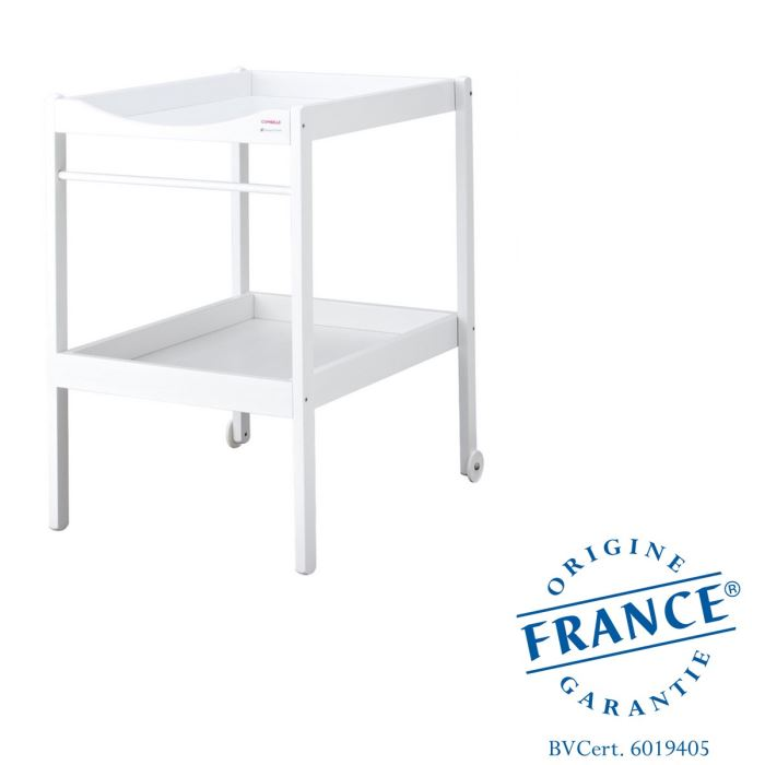 Puericulture Table A Langer Alice Blanc